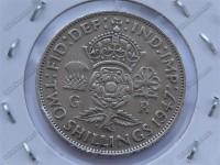 مجموعه ای زیبا از سکه های قدیمی  و کمیاب بریتانیا