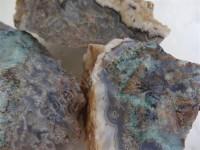 4 کیلوگرم سنگهای راف عقیق شجر بهاری زیبا با طرح و رنگ طبیعی -  قیمت ویژه