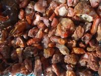 نیم کیلو سنگهای راف معدنی عقیق قرمز