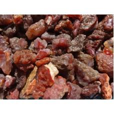نیم کیلوگرم  سنگهای راف عقیق قرمز طبیعی و معدنی