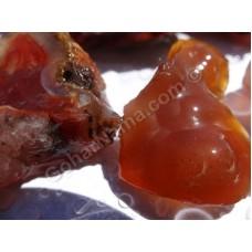 سنگهای راف عقیق قرمز اصل و طبیعی -2